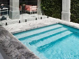 Klay's ceramic pool tiles featured in Rebecca Judd's Style School