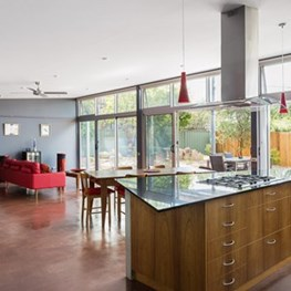 Caladenia Street House by Strine Environments
