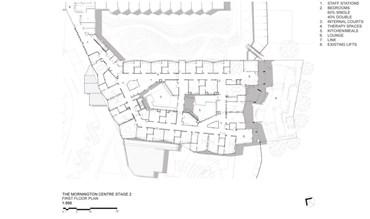 Test-bed for healthcare model: Mornington Centre Stage 2