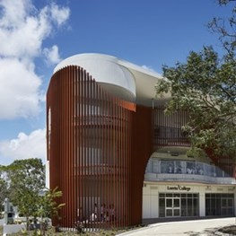 Good eye for sound: Loreto College Cruci Building nails spatial agility and acoustic performance