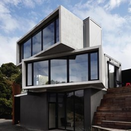 A freight or a house? The Pod in Victoria is made of staggered boxes