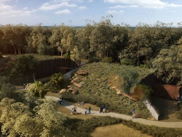 Prefab concrete will be used to make tunnel structures for buildings 4,5 and 6 at the new Sydney Zoo.