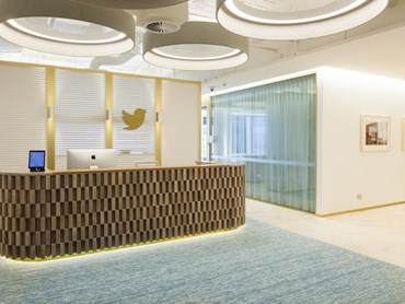 Twitter office Sydney by Bates Smart. Photography by Lucas Boyd