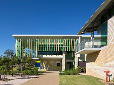CQU Health Clinic Extension, North Rockhampton by Reddog Architects. Photography by Christopher Frederick Jones