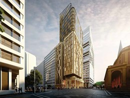 Golden tower proposed for Sydney's historic colonial heritage precinct