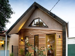 EME Design use 100 per cent timber construction for Melbourne cottage