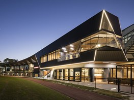 Material choices accentuate architectural features at The Glasshouse, Collingwood