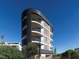 Sculpture by the sea: Solis Apartments, Little Bay by Fox Johnston