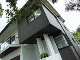 Futurewood provides a cladding solution for a high end architecturally designed home in Sydney