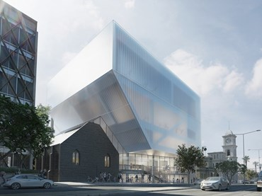 Geelong Performing Arts Centre. Image: Hassell