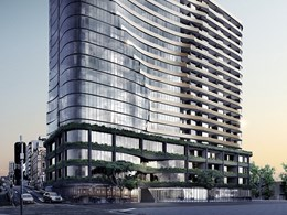 Elenberg Fraser ups Brisbane presence with curvaceous Fortitude Valley project