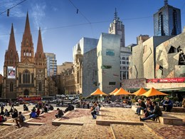 Melbourne's Fed Square recognised for environmental commitment