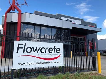 The new Flowcrete warehouse and office in Sydney