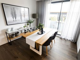 Make your living space 'feel' larger with timber flooring