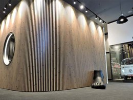 Covet's Ever Artwood cladding specified for Richmond office boardroom