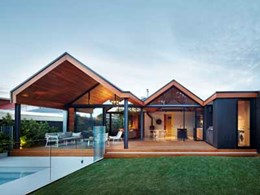 Boral's Blackbutt timber featured throughout architect's home extension
