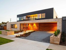 Architect showcases Petersen bricks as hero material at Torquay seaside home