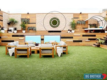 Big Brother house featuring TOTALStone cladding