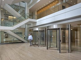 Revolving security doors reducing need for manned access control