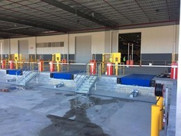 Safetech dock levellers and vehicle restraints ensure safety at Toyota loading bay