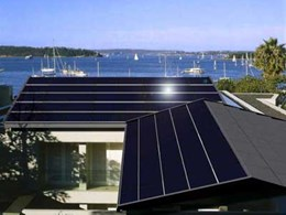 Power and hot water with Tractile's Roof Integrated Photovoltaics