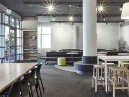 Carpets Inter EcoSoft carpet tiles deliver acoustic benefits at Trinity Grammar School, Melbourne