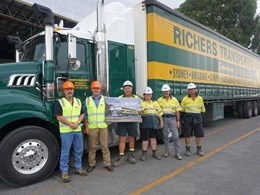 Richers Transport and Hyne Timber complete 30 years of partnership