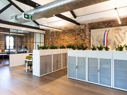 Engineered timber floors add rustic element to stunning office fitout