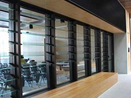 EBSA products provide sunscreening and ventilation at UQ Global Change Institute