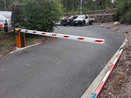 Magnetic's MHTM boom gates manage traffic at university car park