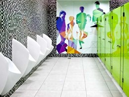 Uridan waterless urinals for stylish and sustainable amenities