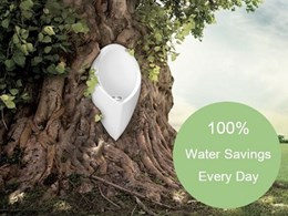 Water conservation with Uridan waterless urinals