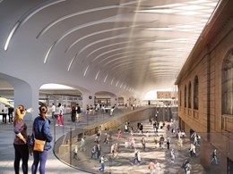 Woods Bagot partners with UK rail experts to deliver unique Central Station upgrade