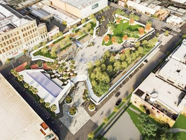 Image: The new Cato Square that will replace a car park near Chapel Street in Melbourne's Prahran (courtesy of the City of Stonnington)