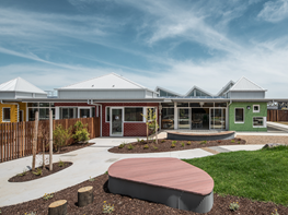 Fit-for-purpose community childcare centre inspired by children's drawings