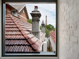 Brick Aperture House provides a window to Sydney's past