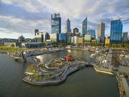 Elizabeth Quay shortlisted in 2018 World Landscape Architecture Awards
