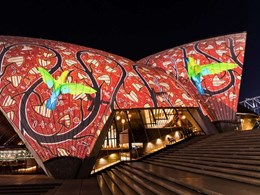 Sydney Opera House to light up nightly with Indigenous artwork
