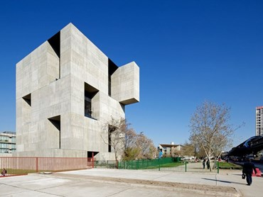 The Innovation Centre UC (Chile) by ELEMENTAL. Image: Nico Saieh