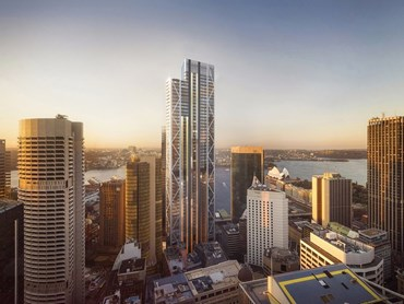 Artist's impression of Sydney's proposed 55-storey office tower designed by Foster + Partners. Image: supplied