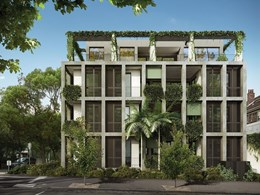 East Melbourne set to sprout elegant plant-covered apartments
