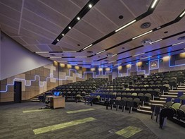 Acoustic connection at the heart of k20's Deakin Lecture Theatre design
