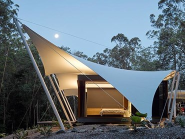 Tent House by Sparks Architects. Image: Open House Sunshine Coast