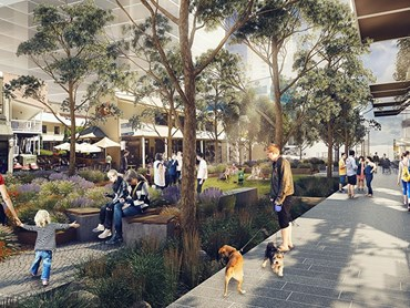 Civic Link will function as the 'cultural spine' of Parramatta. Image: SJB