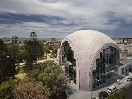 The Geelong Library and Heritage Centre is a study in sensitive, sustainable design