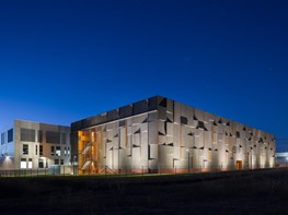 Past and present, dusk and dawn: the design dichotomies of the National Archives Preservation Facility
