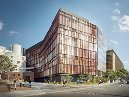 Butterfly wings and rock landscapes inform Woods Bagot's UNSW building design