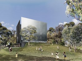 Denton Corker Marshall's 'small and tall' design wins Shepparton Art Museum competition