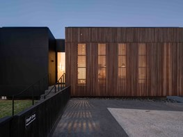 "Wallan Veterinary Hospital is a breathable architectural ""lantern"""