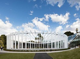 A lens in the landscape: the Royal Botanic Gardens' new architectural centrepiece